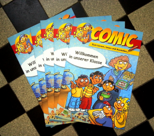 Comic-Flucht